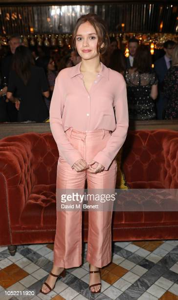 Olivia Cooke attends the European Premiere and Royal Bank of Canada Gala after party for Life Itself during the 62nd BFI London Film Festival at The...