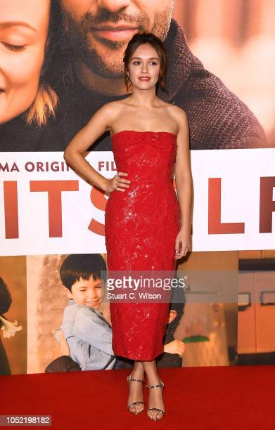 Olivia Cooke attends the European Premiere of Life Itself Royal Bank of Canada Gala during the 62nd BFI London Film Festival on October 15 2018 in...