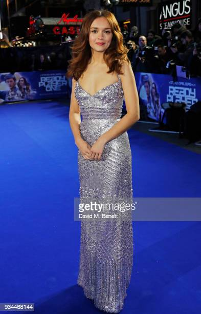 Olivia Cooke attends the European Premiere of 'Ready Player One' at the Vue West End on March 19 2018 in London England