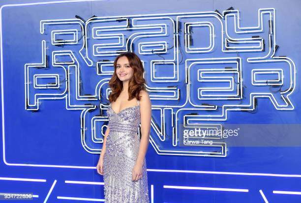 Olivia Cooke attends the European Premiere of 'Ready Player One' at Vue West End on March 19 2018 in London England