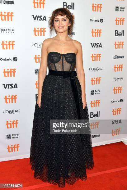 Olivia Cooke attends the Sound Of Metal premiere during the 2019 Toronto International Film Festival at Winter Garden Theatre on September 06 2019 in...