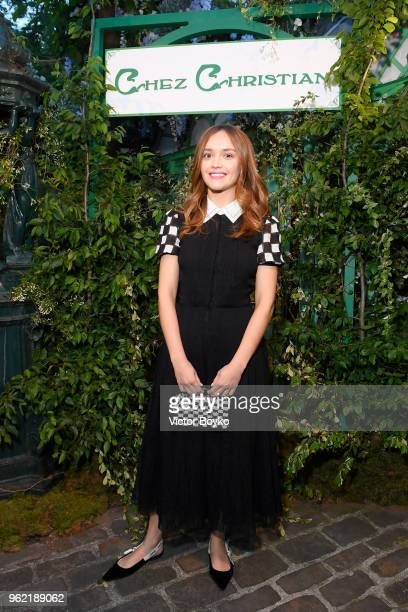 Olivia Cooke attends the Welcome Dinner of the Christian Dior Couture S/S 2019 Cruise Collection on May 24 2018 in Paris France