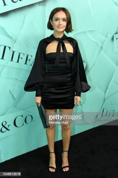 d12fa5f881ba Olivia Cooke attends Tiffany Co Celebrates 2018 Tiffany Blue Book Collection  THE FOUR SEASONS OF TIFFANY