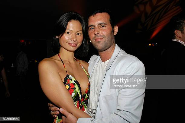 Olivia Corwin and Charlie Corwin attend LOVE HEALS The Alison Gertz Foundation for AIDS Education at Luna Farm Sagaponack on June 23 2007 in...