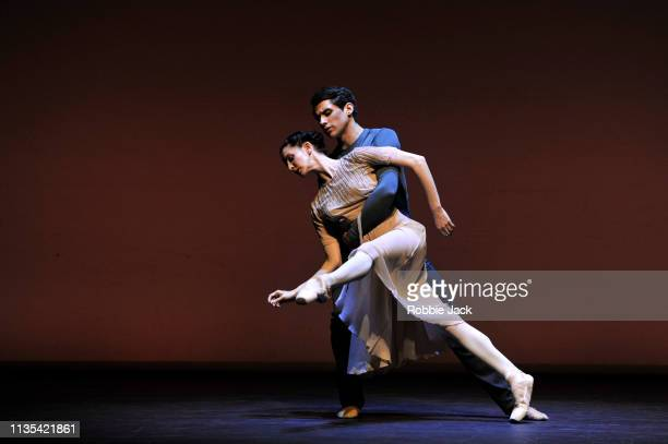 Olivia Cowley and Nicol Edmonds in Ever After from the Annette Page Tribute to a Ballerina at The Linbury Theatre The Royal Opera House on March 12...