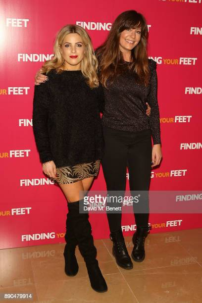 Olivia Cox and Lucy Horobin attend a special screening of 'Finding Your Feet' at The May Fair Hotel on December 11 2017 in London England
