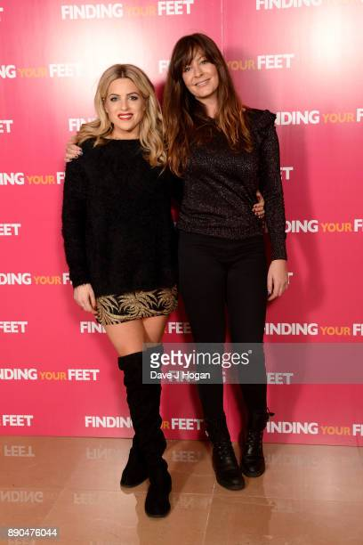 Olivia Cox and Lucy Horobin attend the 'Finding Your Feet' special screening at The May Fair Hotel on December 11 2017 in London England