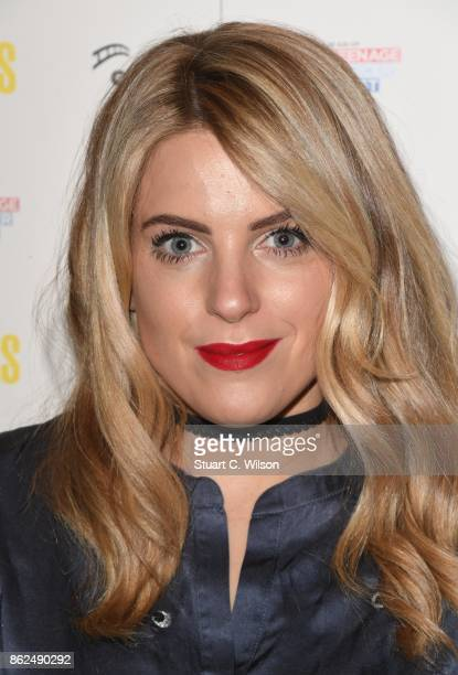 Olivia Cox arrives at the 'Access All Areas' VIP gala screening held at Proud Camden on October 17, 2017 in London, England.