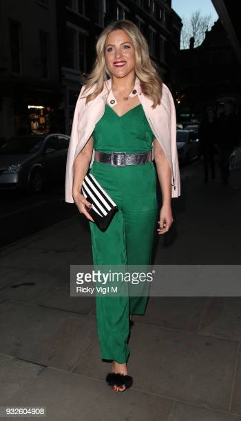 Olivia Cox attending Folli Follie launch party at The White Space on March 15 2018 in London England