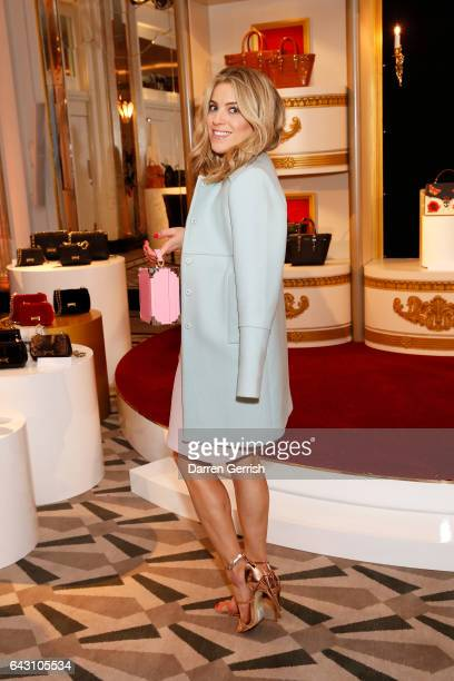Olivia Cox attends the Aspinal of London Press Day on February 20 2017 in London England