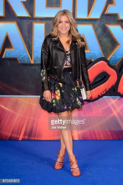 """Olivia Cox attends the European Gala Screening of """"Guardians of the Galaxy Vol. 2"""" at Eventim Apollo on April 24, 2017 in London, United Kingdom."""
