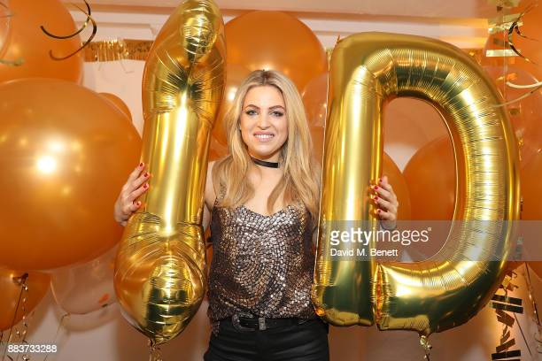 Olivia Cox attends the exclusive press preview launch of global supermarket brand Lidl's second Esmara by Heidi Klum collection on December 1 2017 in...