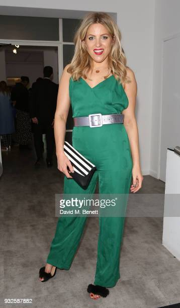 Olivia Cox attends the launch of Folli Follie's new Riviera Collection during an exclusive private view of the SS18 accessory ranges at The White...