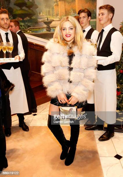 Olivia Cox attends the new flagship store launch of Aspinal on Regent's Street St James's on December 5 2017 in London England