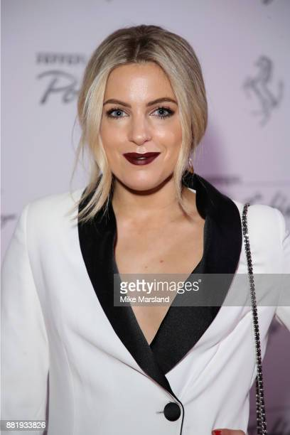 Olivia Cox attends the UK launch event for the new Ferrari Portofino at Kensington Olympia on November 29 2017 in London England