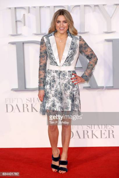 Olivia Cox attends the UK Premiere of 'Fifty Shades Darker' at the Odeon Leicester Square on February 9 2017 in London United Kingdom