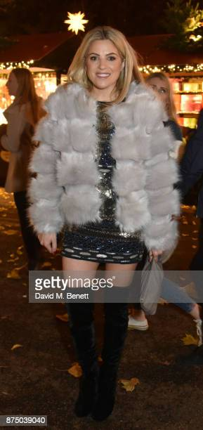 Olivia Cox attends the VIP launch of Hyde Park Winter Wonderland 2017 on November 16 2017 in London England