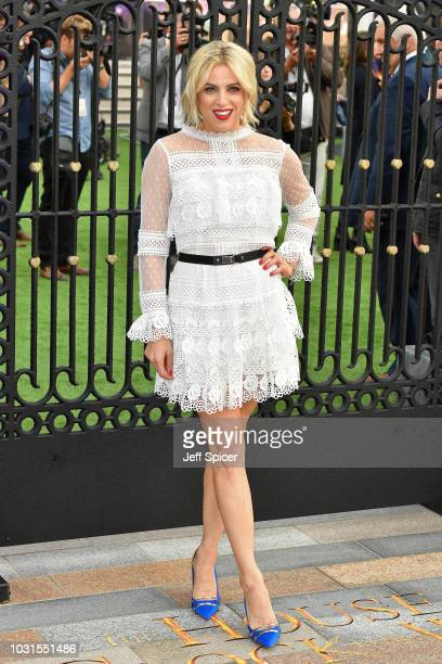 """Olivia Cox attends the World Premiere of """"The House With The Clock In Its Walls"""" at Westfield White City on September 05, 2018 in London, England."""