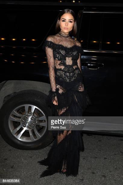 Olivia Culpo arrives at Harper's BAZAAR Celebration of 'ICONS By Carine Roitfeld' at The Plaza Hotel presented by Infor Laura Mercier Stella Artois...