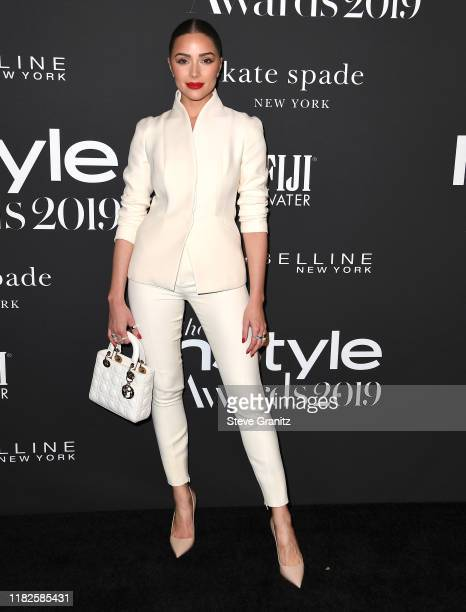 Olivia Culpo arrives at the 2019 InStyle Awards at The Getty Center on October 21, 2019 in Los Angeles, California.