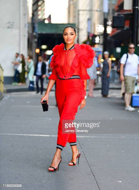 Olivia Culpo arrives to TAG Heuer event at Cipriani 25 Broadway on July 10 2019 in New York City