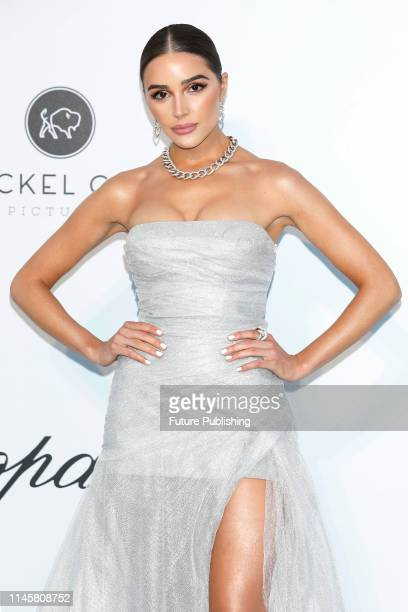 Olivia Culpo at the amfAR Cannes Gala 2019 at Hotel du CapEdenRoc on May 23 2019 in Cap d'Antibes France