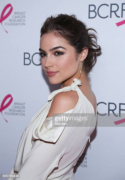 Olivia Culpo attends 2016 Breast Cancer Research Foundation Hot Pink Party at The Waldorf=Astoria on April 12 2016 in New York City