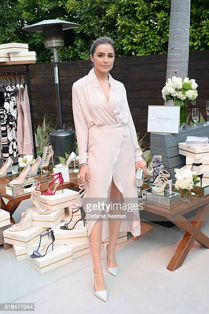 Olivia Culpo attends Imagine Vince Camuto Launch Event at the Home of The A ListÕs Ashlee Margolis on March 31 2016 in Beverly Hills California