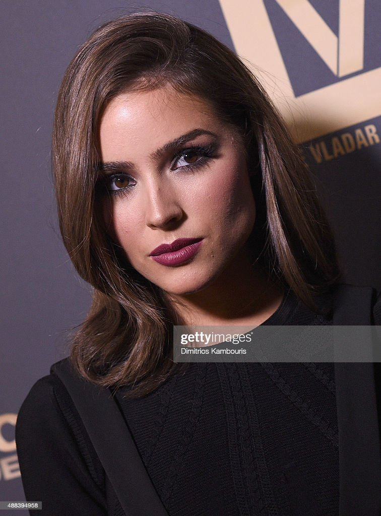 Olivia Culpo attends 'Jeremy Scott: The People's Designer' New York Premiere at The Paris Theatre on September 15, 2015 in New York City.