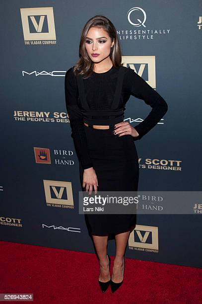 Olivia Culpo attends Jeremy Scott The' People's Designer New York premiere at the Paris Theatre in New York City �� LAN