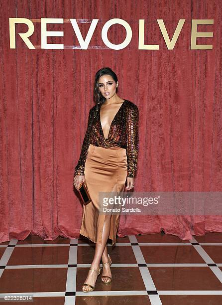 Olivia Culpo attends REVOLVE Winter Formal 2016 on November 10 2016 in Los Angeles California