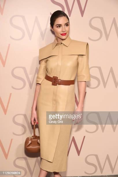 Olivia Culpo attends Stuart Weitzman Spring Celebration 2019 on February 12 2019 in New York City