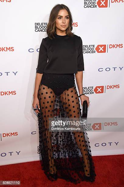 Olivia Culpo attends the 10th Annual Delete Blood Cancer DKMS Gala at Cipriani Wall Street on May 5 2016 in New York City