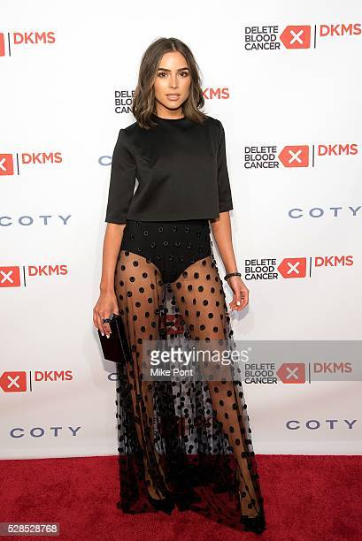 Olivia Culpo attends the 10th Annual Delete Blood Cancer DKMS Gala at Cipriani Wall Street on May 05 2016 in New York New York