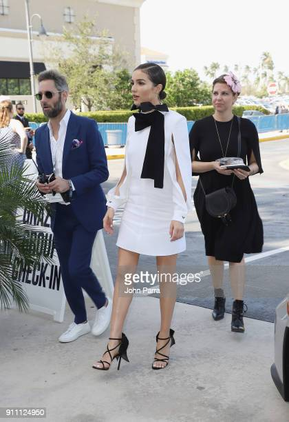 Olivia Culpo attends The $16 Million Pegasus World Cup Invitational The World's Richest Thoroughbred Horse Race at Gulfstream Park on January 27 2018...