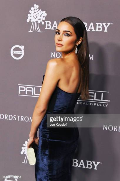 Olivia Culpo attends the 2018 Baby2Baby Gala Presented by Paul Mitchell at 3LABS on November 10 2018 in Culver City California