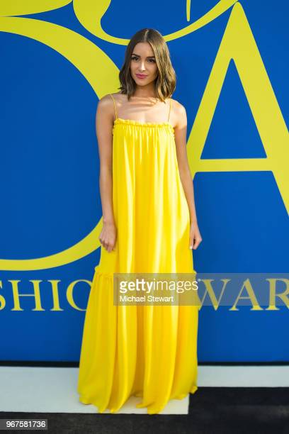 Olivia Culpo attends the 2018 CFDA Fashion Awards at Brooklyn Museum on June 4 2018 in New York City