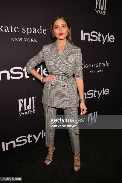 Olivia Culpo attends the 2018 InStyle Awards at The Getty Center on October 22 2018 in Los Angeles California