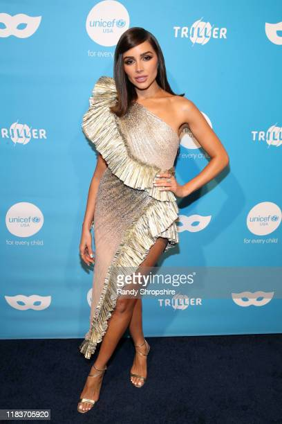 Olivia Culpo attends the 7th Annual UNICEF Masquerade Ball 2019 at Kimpton La Peer Hotel on October 26 2019 in West Hollywood California
