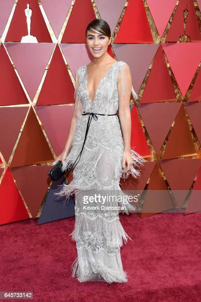 Olivia Culpo attends the 89th Annual Academy Awards at Hollywood Highland Center on February 26 2017 in Hollywood California
