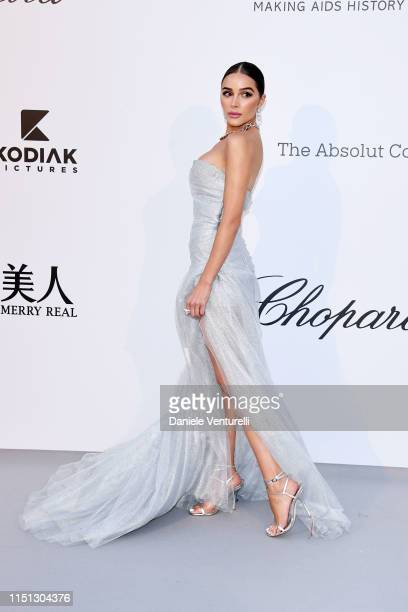 Olivia Culpo attends the amfAR Cannes Gala 2019 at Hotel du CapEdenRoc on May 23 2019 in Cap d'Antibes France