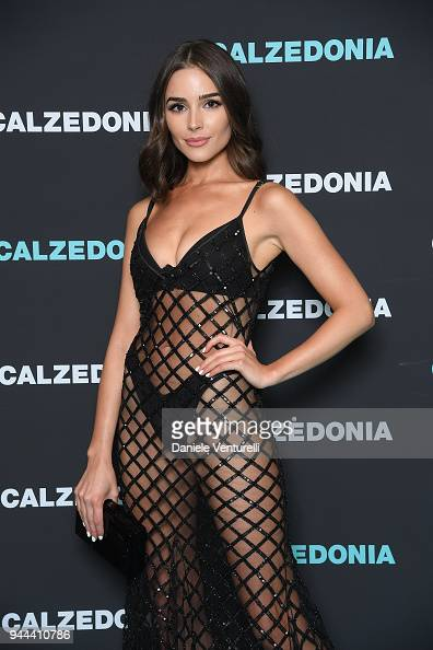 6864562de89 Olivia Culpo attends the Calzedonia Summer Show on April 10, 2018 in...  News Photo - Getty Images