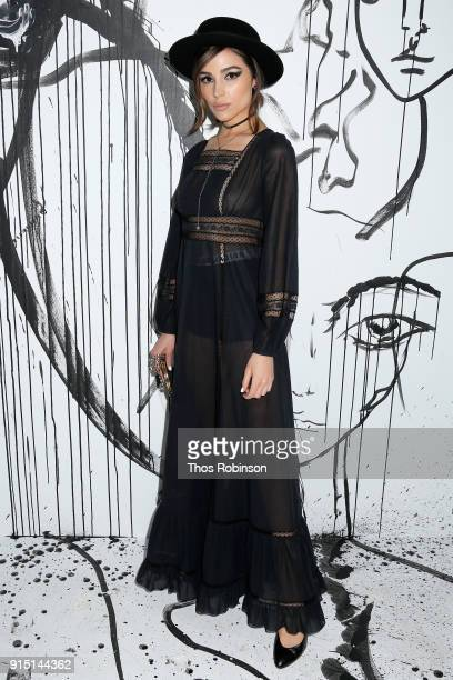 Olivia Culpo attends the Dior SpringSummer 2018 Collection launch event at Milk Garage on February 6 2018 in New York City