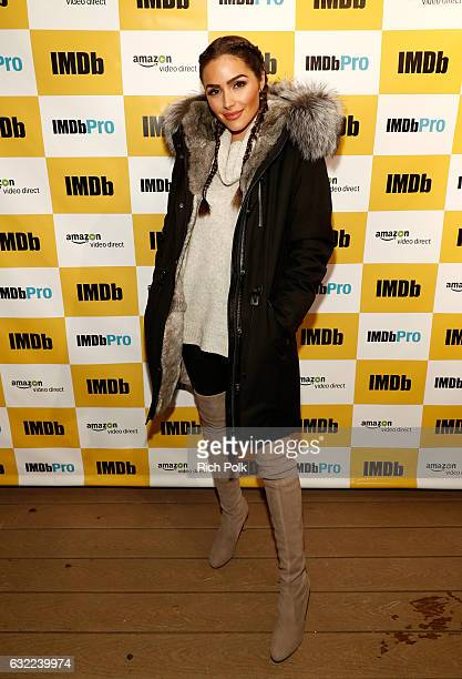 Olivia Culpo attends The IMDb Studio featuring the Filmmaker Discovery Lounge presented by Amazon Video Direct Day One during The 2017 Sundance Film...