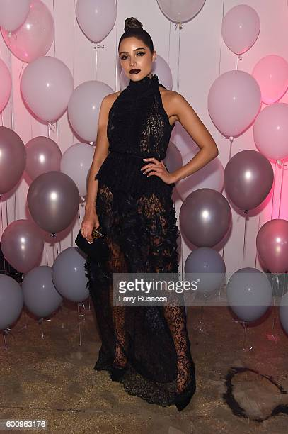 Olivia Culpo attends the Jimmy Choo 20th Anniversary Event during New York Fashion Week on September 8 2016 in New York City