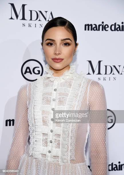 Olivia Culpo attends the Marie Claire's Image Makers Awards 2018 at Delilah LA on January 11 2018 in West Hollywood California