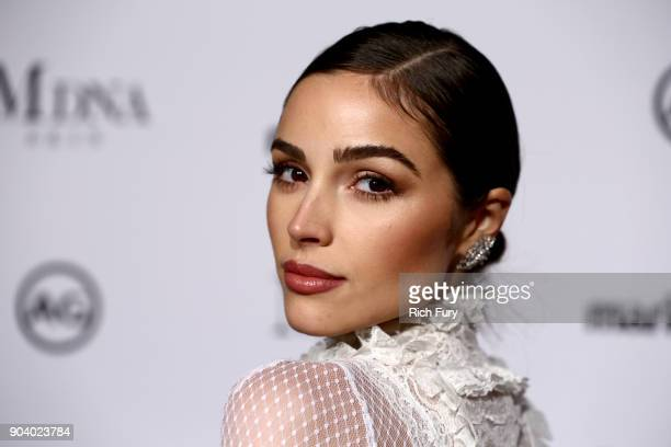 Olivia Culpo attends the Marie Claire's Image Makers Awards 2018 on January 11 2018 in West Hollywood California