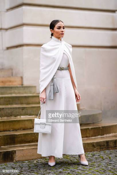 Olivia Culpo attends the Nina Ricci show as part of the Paris Fashion Week Womenswear Fall/Winter 2018/2019 on March 2 2018 in Paris France