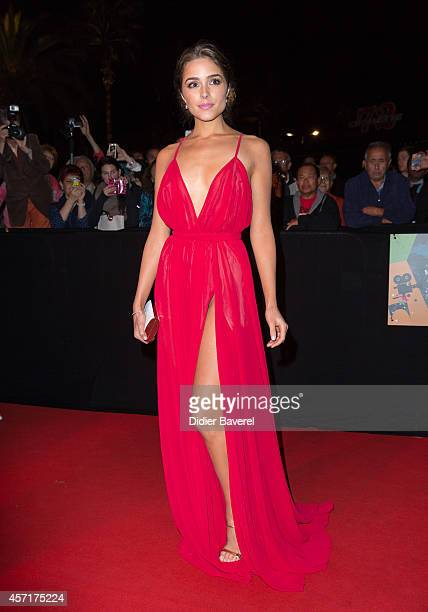Olivia Culpo attends the opening red carpet party MIPCOM 2014 at Hotel Martinez on October 13 2014 in Cannes France