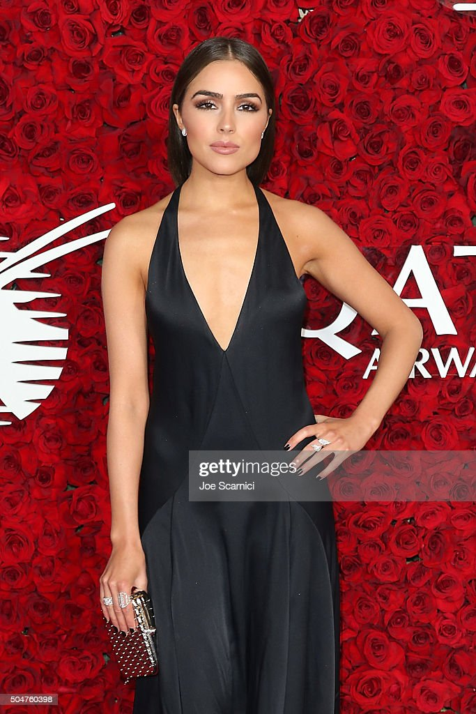 Olivia Culpo attends the Qatar Airways Los Angeles Gala at Dolby Theatre on January 12, 2016 in Hollywood, California.
